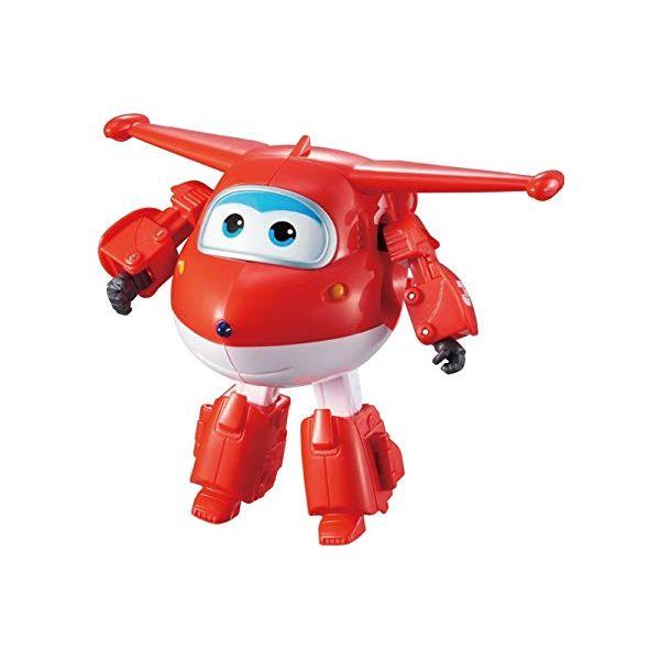 Robot biến hình máy bay cỡ to - Jett Tia Chớp (EU)