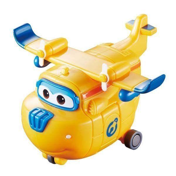 Robot biến hình máy bay mini - Donnie Thông Minh