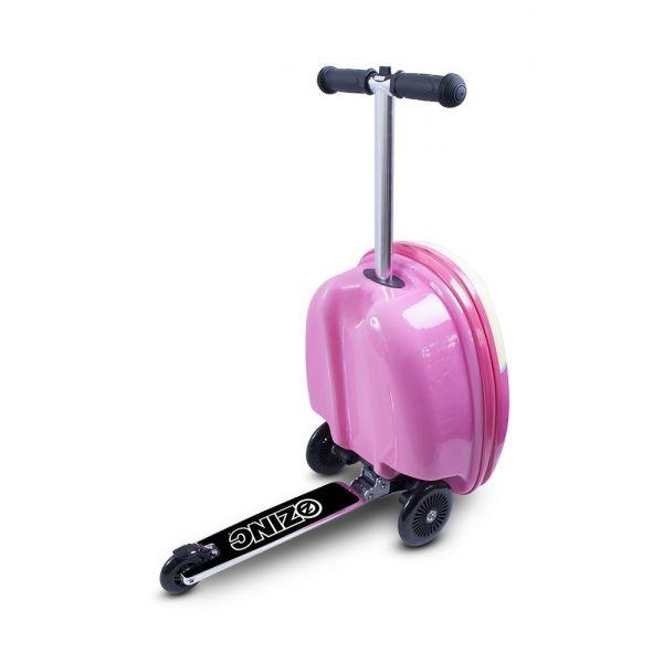 Vali kéo kiêm xe trượt Scooter  hình   Olivia màu hồng