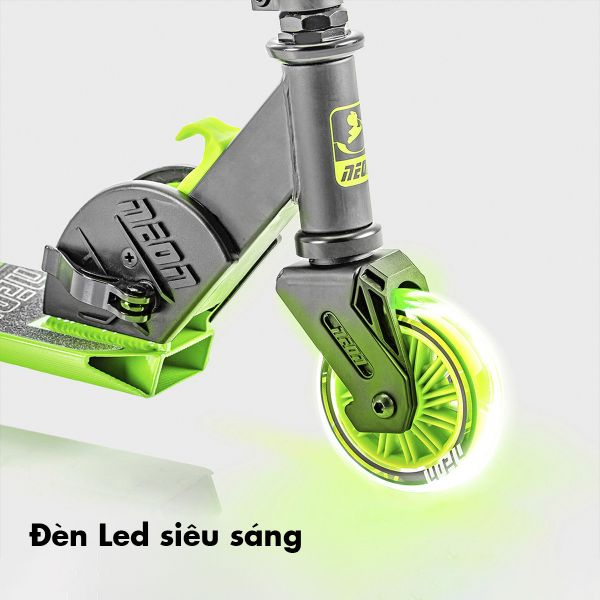 Xe Scooter 2 bánh Neon Vector Yvolution NT05G2 xanh lá