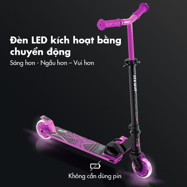 Scooter Neon Vector - Hồng