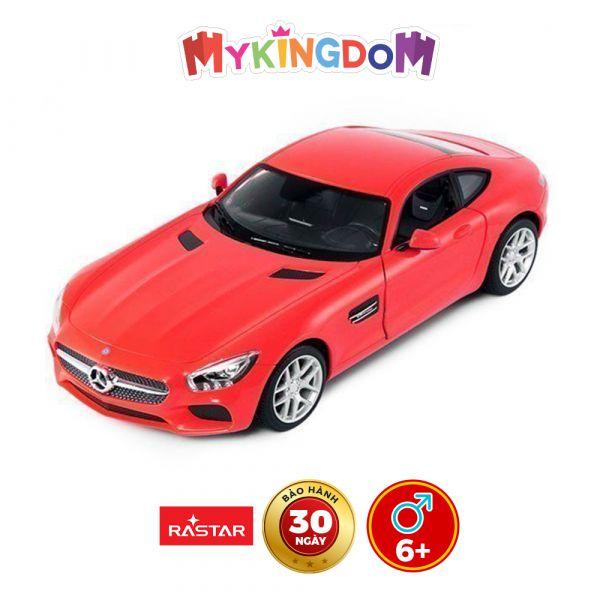 Xe điều khiển Mercedes-benz Đỏ