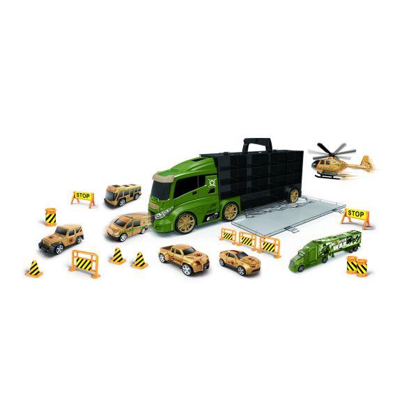 Xe tải nhiều ngăn - Xanh lá (lớn)