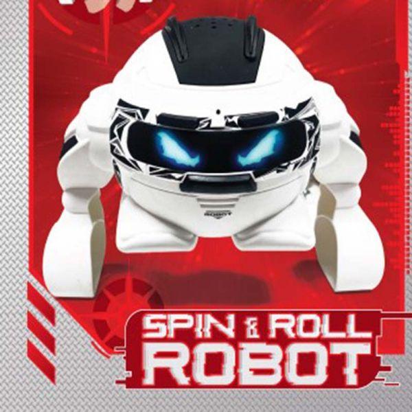 Robot lăn lộn (trắng)
