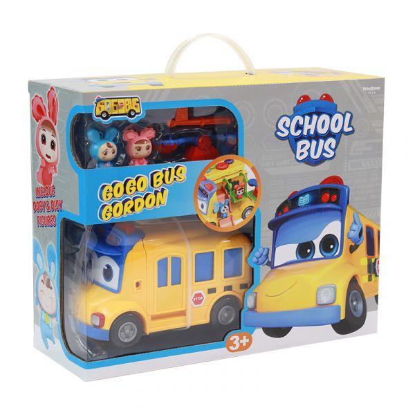 Bộ Playset Xe buýt đến trường GoGo Bus