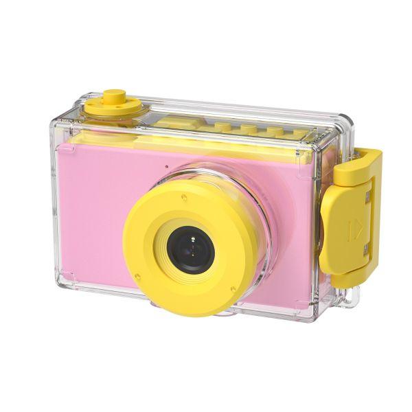 Máy  chụp hình chống nước - Hồng dịu dàng