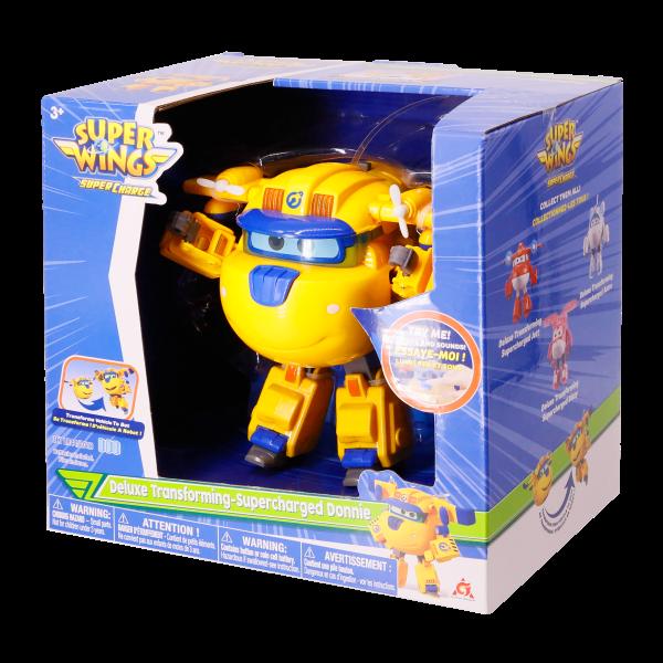 Robot Biến Hình Cỡ Lớn Có Đèn Và Âm Thanh  - - Donnie Siêu C