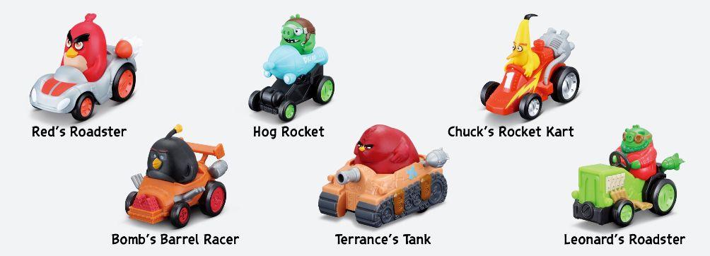 Bộ sưu tập những bộ đồ chơi thú vị khiến các fan Angry Birds thích mê