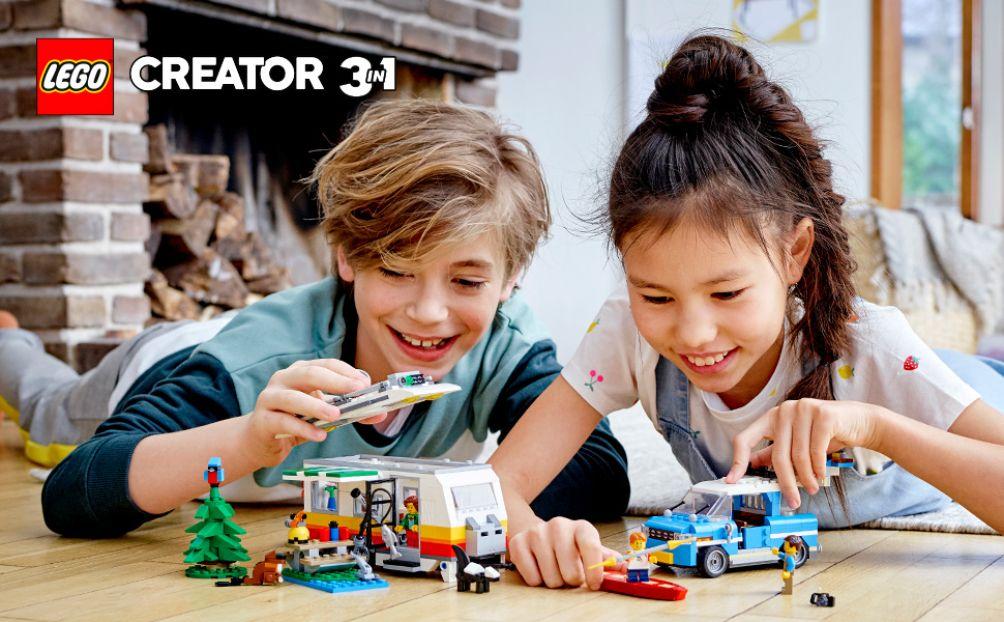 Mang đến trẻ một mùa hè bổ ích với những bộ đồ chơi LEGO sáng tạo đầy màu sắc