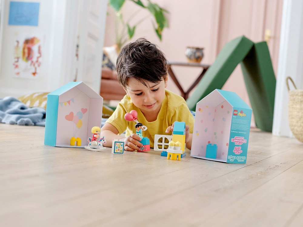 LEGO Duplo - món đồ chơi thông minh hữu ích để trẻ phát triển những năm đầu đời