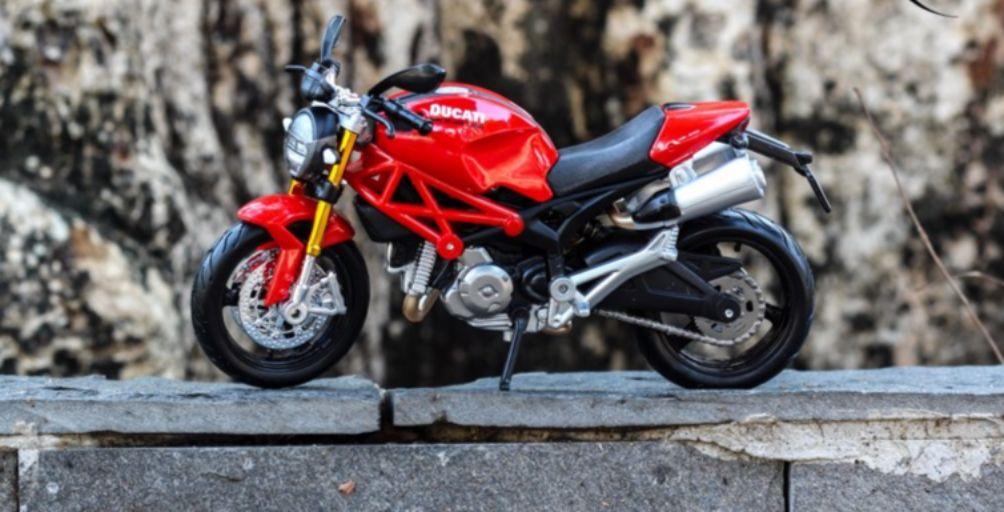 Chiêm ngưỡng bộ sưu tập mô hình lắp ráp xe moto chất lừ của hãng Maisto