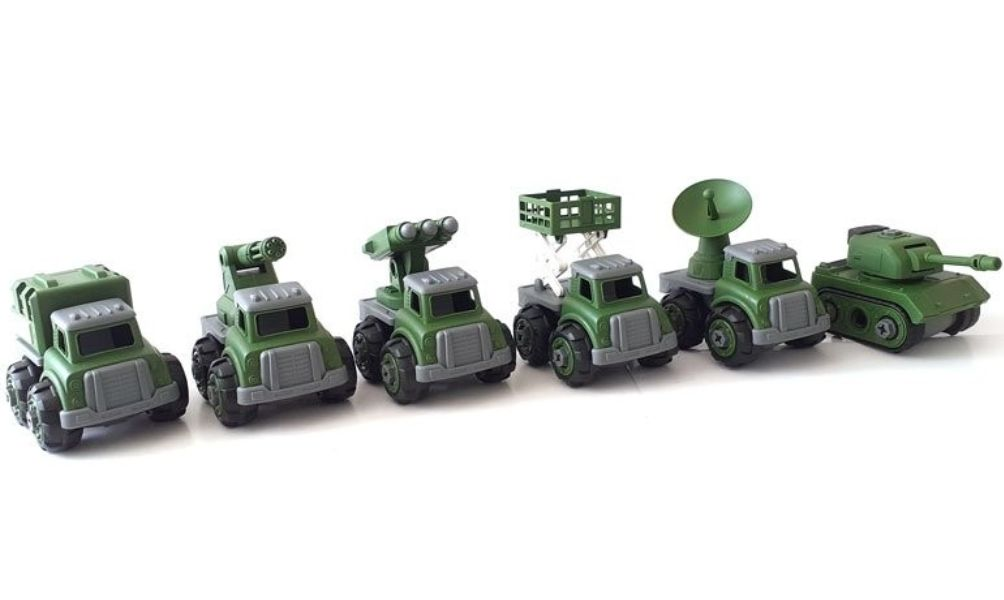 Giúp bé rèn luyện kỹ năng khéo léo với đồ chơi lắp ráp xe ô tô độc đáo